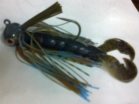 Oldham Jig's new tilapia color.